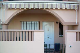 Fachada del apartamento en Chiclana