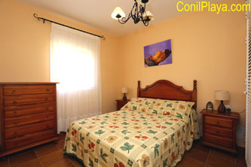 dormitorio principal con sinfonier