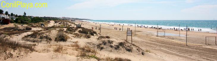 Playa de la Barrosa, Novo Sancti Petri, Chiclana
