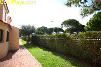 Jardín delantero