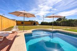 Chalet con piscina en Chiclan, en San Andrés Golf
