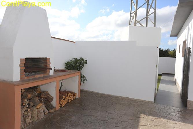 barbacoa de la terraza