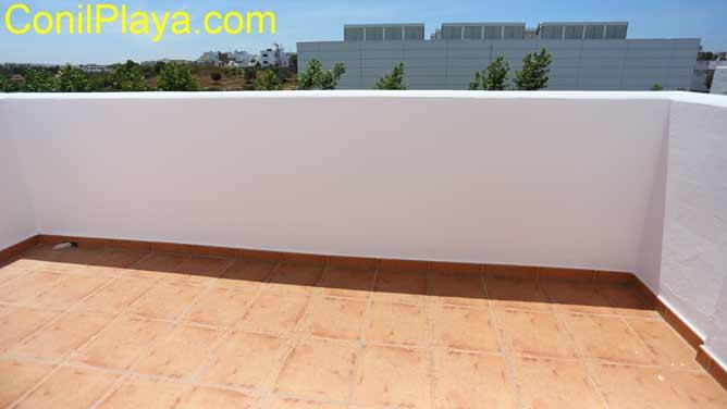 terraza del dormitorio principal