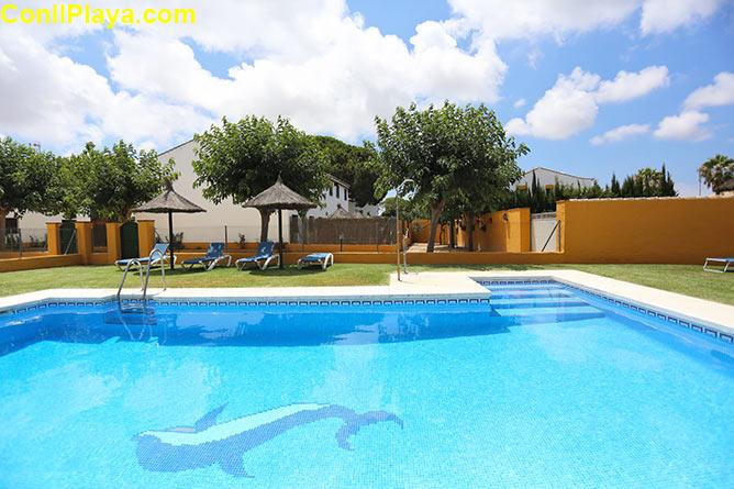 apartamentos piscina