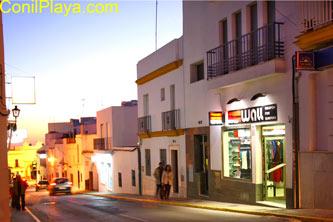 Calle San Sebastian. Fachada del apartamento.