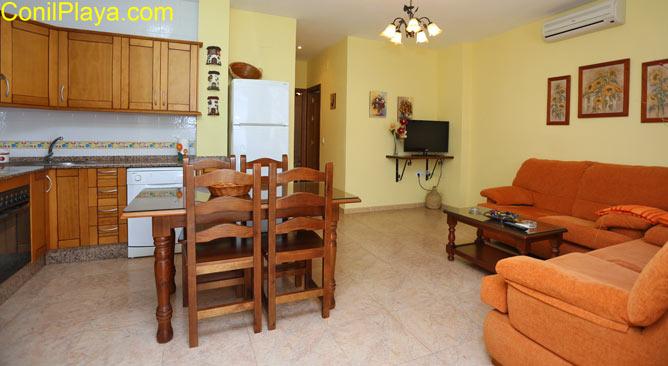 Salon del apartamento.