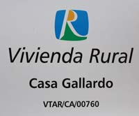 casa Registrada en la oficina de turismo de andalucia