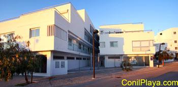 Edificio del apartamento.