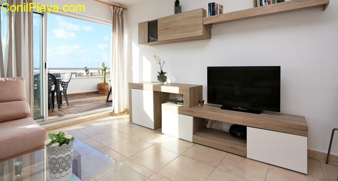 television del salón
