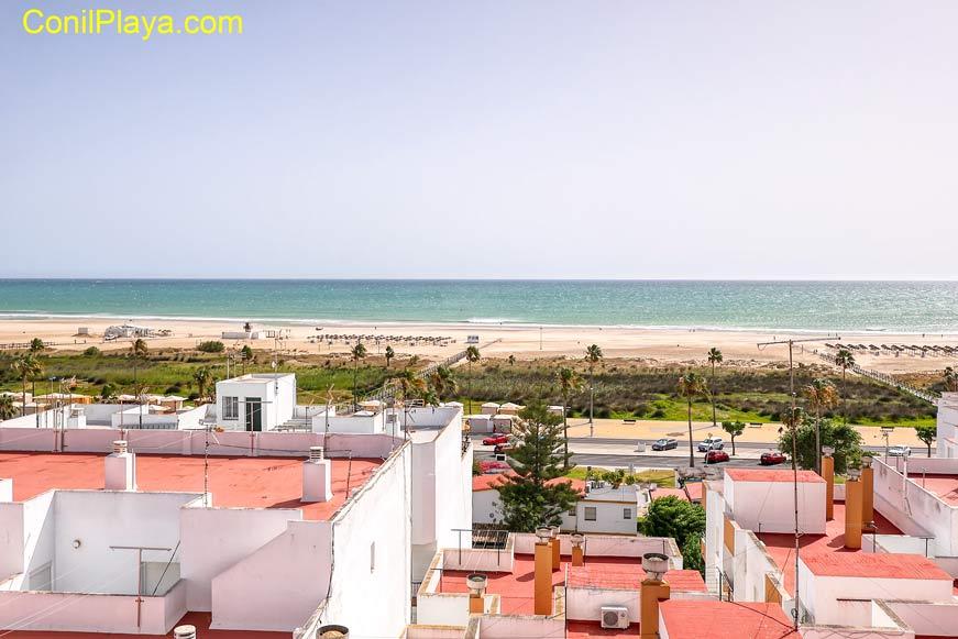 Vistas desde la azotea del apartamento en la calle Cádiz.