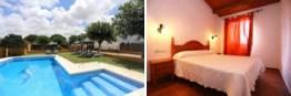 Apartamentos turísticos en Conil de la Frontera con piscina