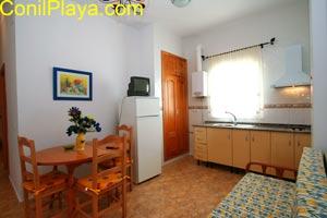 apartamento salon cocina