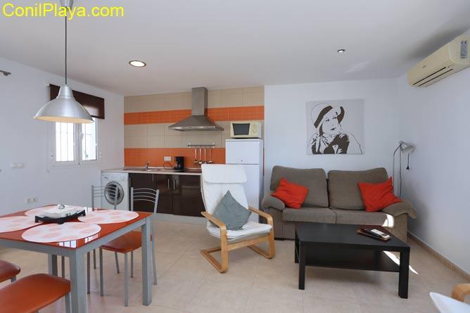 Apartamento de gran calidad, luminoso y amplio.