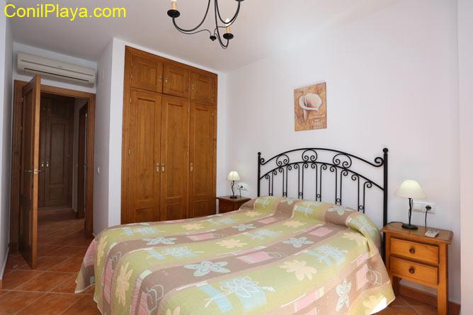 armario del apartamento con aire acondicionado