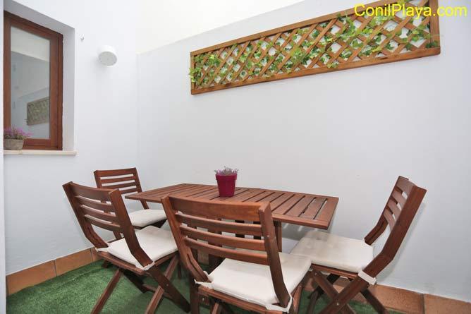 patio interior privado