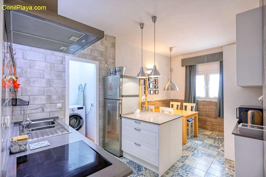 escaleras del apartamento
