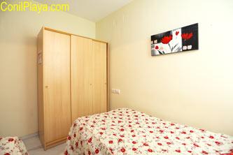 Segundo dormitorio con dos camas