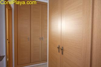 armarios del pasillo