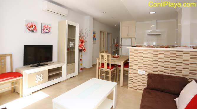 apartamento con aire acondicionado