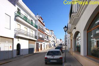 fachada y calle del apartamento
