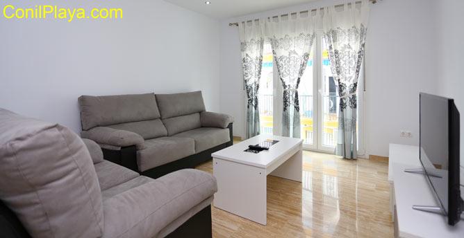Salón del apartamento