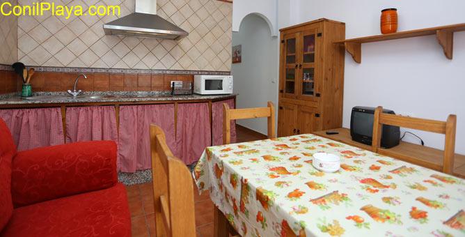 vista del apartamento