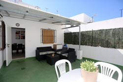 Alquiler en Conil con terraza privada