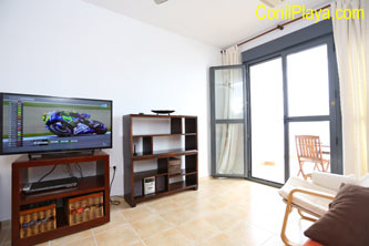 sofa del apartamento