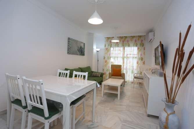 salon del apartamento en Conil