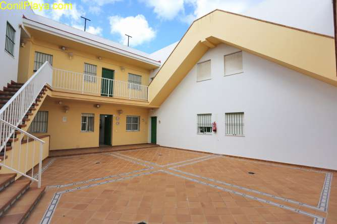 apartamento con patio interior