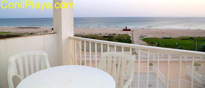 terraza con excelentes vistas