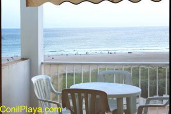 Conil apartamento primera linea de playa