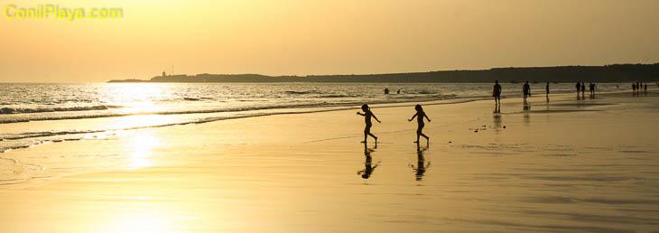 Conil, playa La Fuente del Gallo