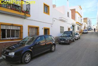 fachada y calle cerrillo