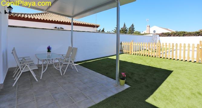 porche jardin