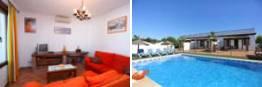 Apartamento en Conil con piscina cerca de las Calas de Roche. Uno o dos dormitorios.