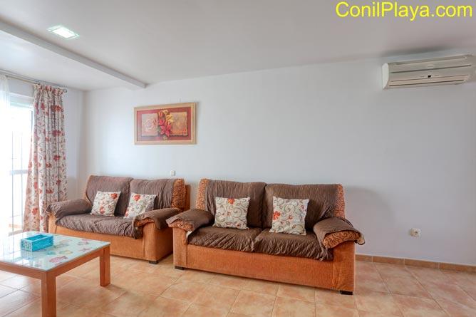 casa con aire acondicionado