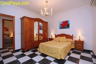armario del dormitorio principal es amplio