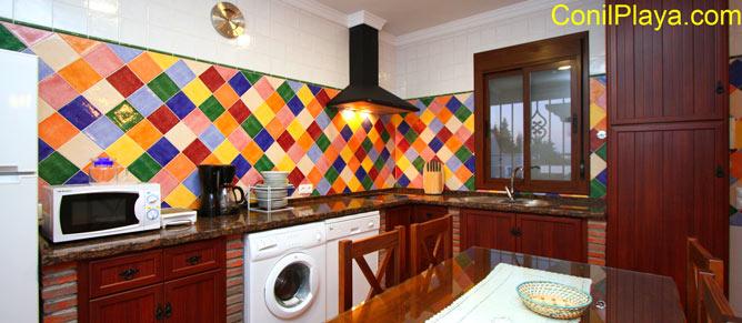 Vista general de la cocina.