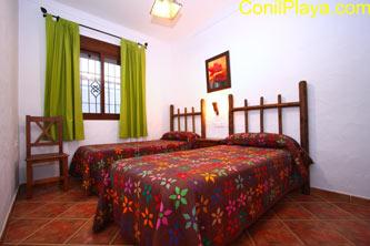 Dormitorio de 2 camas individuales