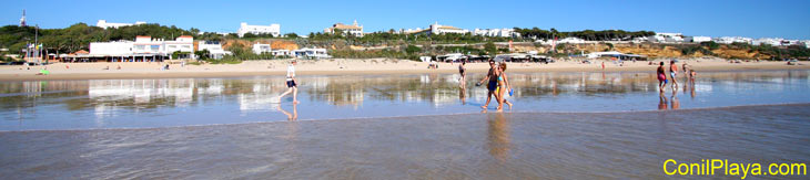 Paseando por las playas de Conil.
