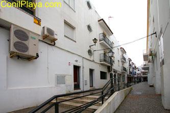 La calle Rafael Alberti es peatonal