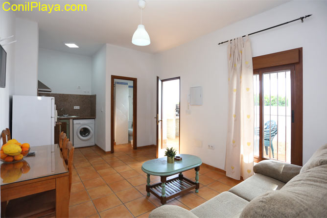 interior del apartamento