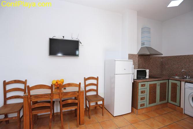 cocina y comedor de la casa