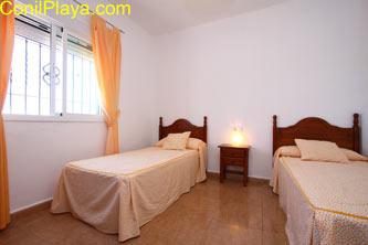 Dormitorio 2 camas
