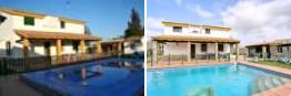 Chalet con piscina en alquiler con 3 dormitorios, 6 personas y cerca de la Fuente del Gallo.