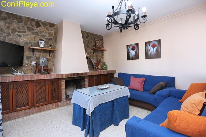 sofá del salon
