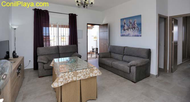 sofá del salón