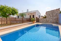 Casa con piscina para alquilar cerca de Conil, en los Majadales de Roche