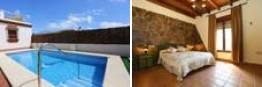 Casa con piscina de un dormitorio en Conil
